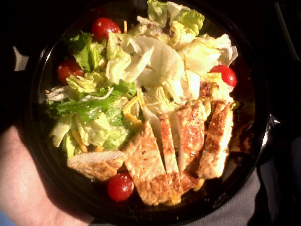 Does this fast food salad look good for you?